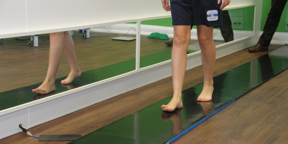 gait analysis patient Norfolk